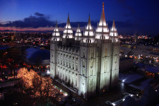 Salt Lake city, home of genealogy